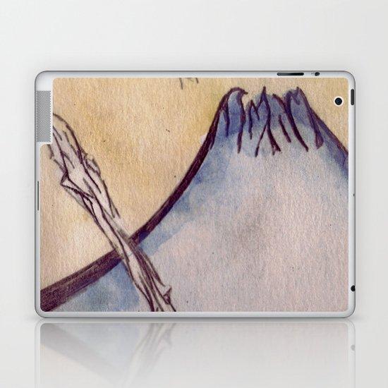 Japanese Mountain Laptop & iPad Skin