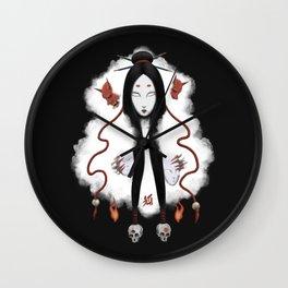Inhuman - Japanese Fox Spirit Kitsune Wall Clock
