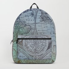 Map of the Colorful World Backpack