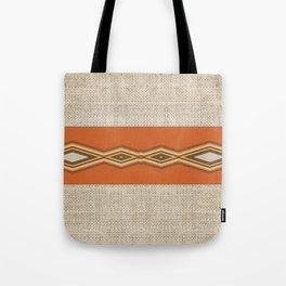 Southwestern Earth Tone Texture Design Tote Bag