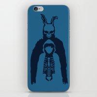 donnie darko iPhone & iPod Skins featuring Donnie Darko by sgrunfo