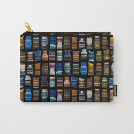 Multicolored artwork Carry-All Pouch