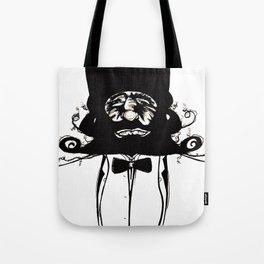 """Mustachat"" Tote Bag"