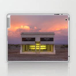 Marfa at sunset Laptop & iPad Skin