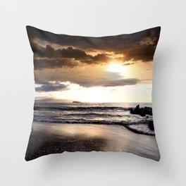 Rhythm of the Island Throw Pillow