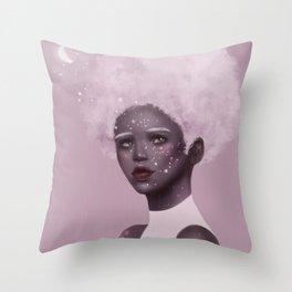 Half-moon light Throw Pillow