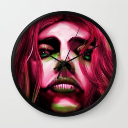 FaceonGreen Wall Clock
