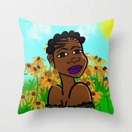 Sista Nature Throw Pillow