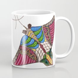 Colorful Stingray Coffee Mug