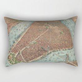 Manhattan 1879 Rectangular Pillow