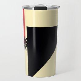 Abstract Shape Travel Mug