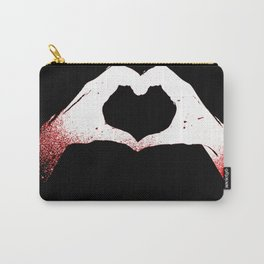 Heart in Hands Carry-All Pouch