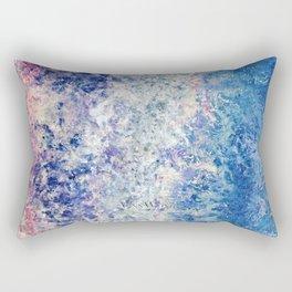 Twilight Tides - Abstract Art Rectangular Pillow