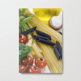 Italian Pasta Metal Print