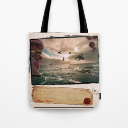 Flying With Friends - Super Smash Brothers Tote Bag