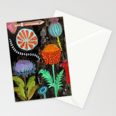 Gardening At Night Stationery Cards