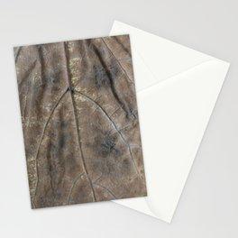Falling leaf pattern Stationery Cards