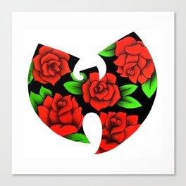 Roses Wutang Canvas Print