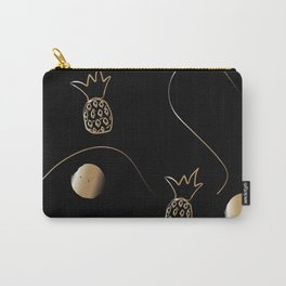 Golden Pineapples Carry-All Pouch