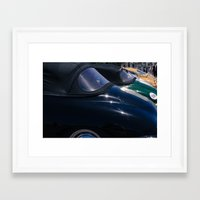 porsche Framed Art Prints featuring Porsche by Sébastien BOUVIER