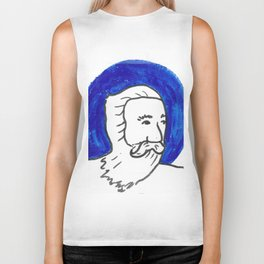 The Blue Man Biker Tank