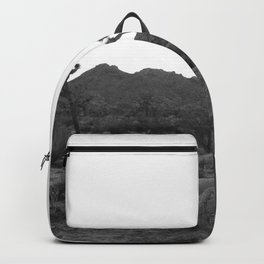 Joshua Tree in Black and White Backpack