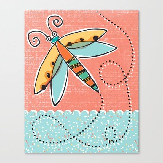 Summer Buzzin' Canvas Print