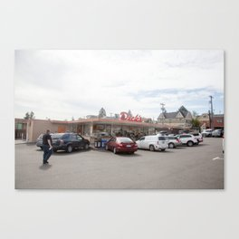 Dicks Drive-In Seatlle Canvas Print