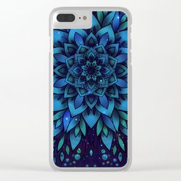 Sky flower Clear iPhone Case