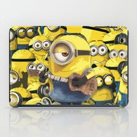 minions iPad Cases featuring MINIONS by DisPrints
