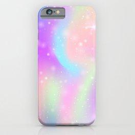 Rainbow Unicorn Watercolor iPhone Case
