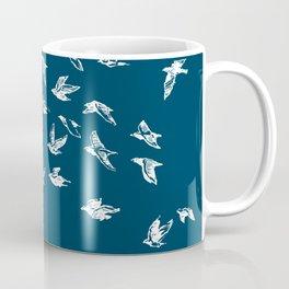 Flying Free (on Blue) Coffee Mug