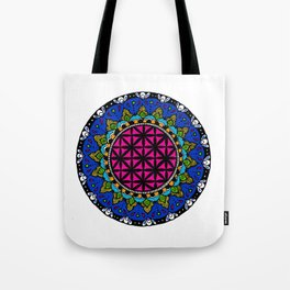 Colourful Mandala Tote Bag