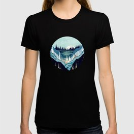 Blue Forest Lake T-shirt