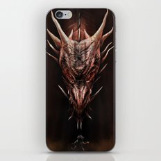 Smaug And The Thief iPhone & iPod Skin