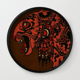 Tezcalipoca Wall Clock