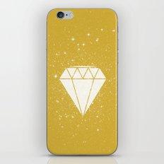 Space Diamond (gold) iPhone & iPod Skin