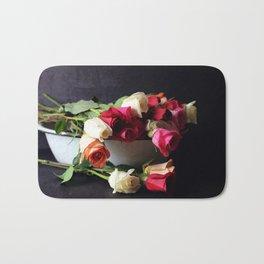 las rosas Bath Mat
