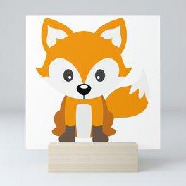 Sly Fox Mini Art Print