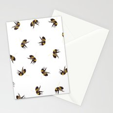 Bumble Bee Pattern Stationery Cards