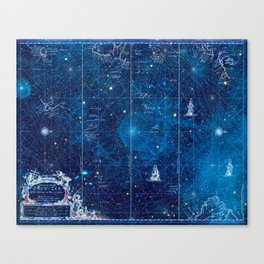 a space map (1) Canvas Print