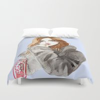 arabic Duvet Covers featuring arabic beauty  by pidam92