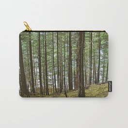 IN THE FOREST BY THE LAKE Carry-All Pouch