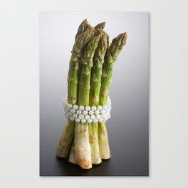 Bundle of asparagus Canvas Print