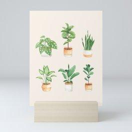 House Plants: Watercolor Edition Mini Art Print