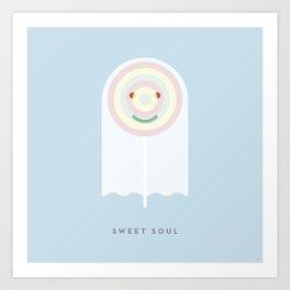 SWEET SOUL Art Print