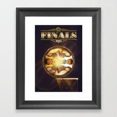 NBA Finals 2015 Framed Art Print