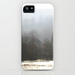 Town on the Valley iPhone Case