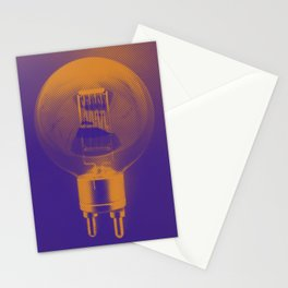 Simon Carter Graphic Bulb Stationery Cards