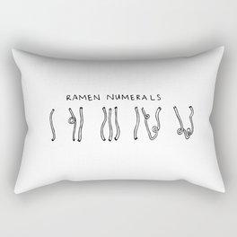 Ramen Numerals Rectangular Pillow